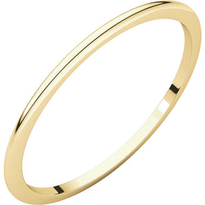 Dainty simple gold band