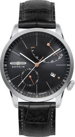 Zeppelin Watch Flatline Made in Germany San Francisco