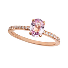 Load image into Gallery viewer, Pink Sapphire Ring