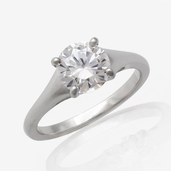 Medium Madison Sculptural Engagement Ring Setting