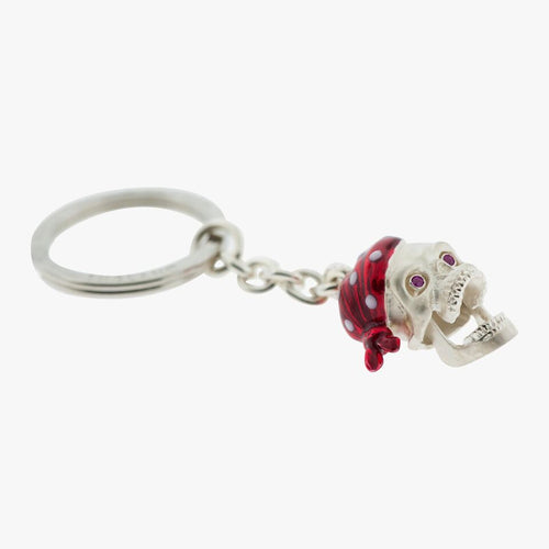Pirate Skull Key Chain