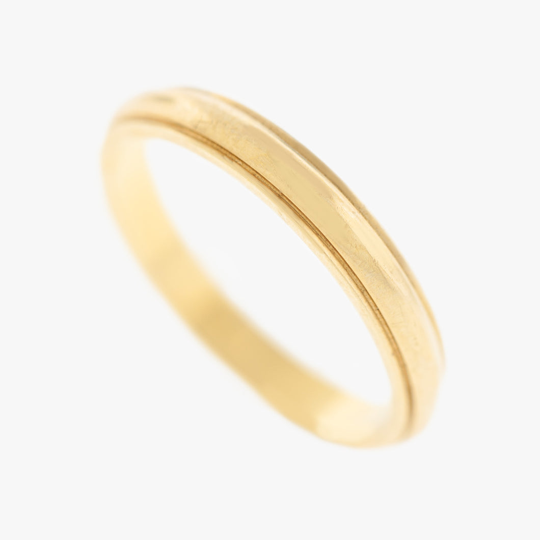 Mens Men's  classic simple Wedding Band to buy in San Francisco Partita custom jewelry design
