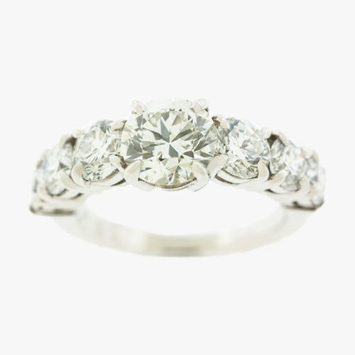Diamond Engagement Ring San Francisco jewelry store in Marina  Partita custom design