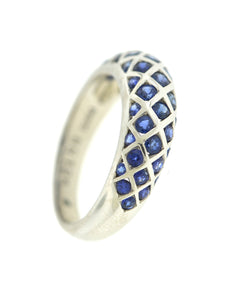 Ring Domed Sapphire