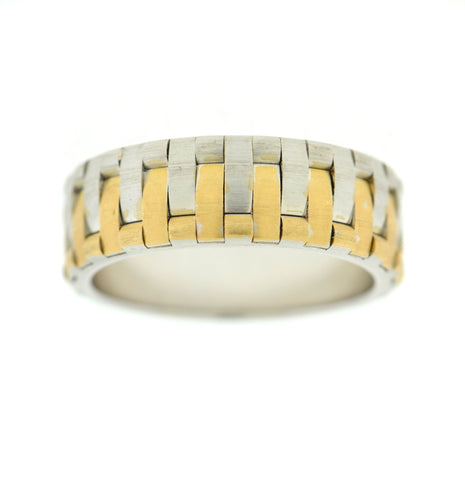 Men's Wedding Band Castle