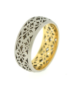 Men's Pierced Wedding Band