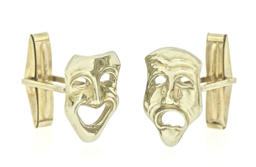 Tragedy Comedy Cufflinks