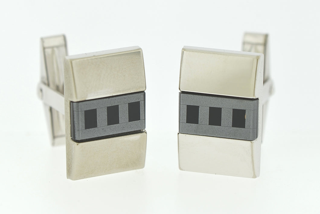 Three Row Cufflinks