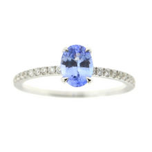Load image into Gallery viewer, Blue Sapphire Ring