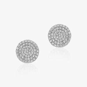 Diamond Earrings Simple Partita Custom design Jewelry San Francisco