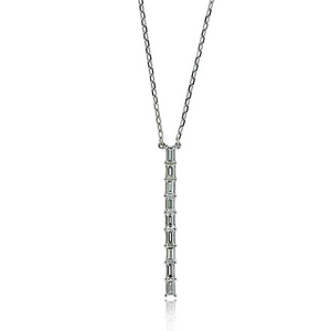 Vertical Diamond Necklace