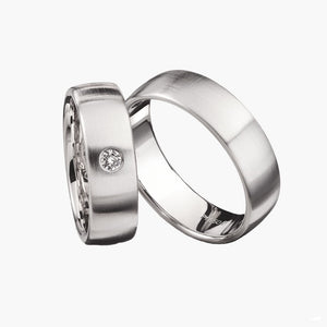 Plain Classic Men's Wedding Band