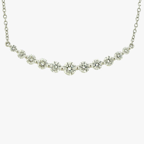 Diamond Smile Necklace