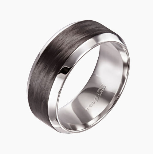 Carbon Fiber wedding Band San Francisco Jewelry Store 37.800233, -122.440168