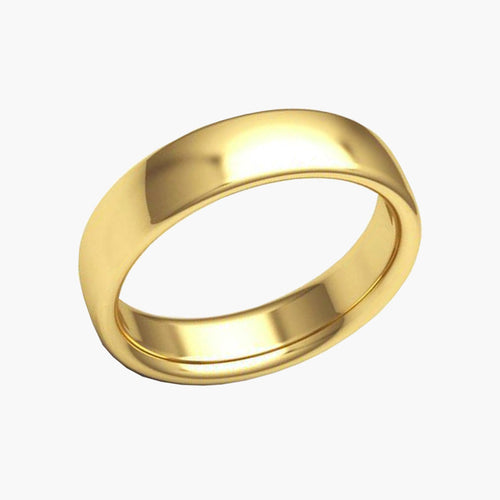 Gold Wedding Band 37.800233, -122.440168 San Francisco Jewelry Store