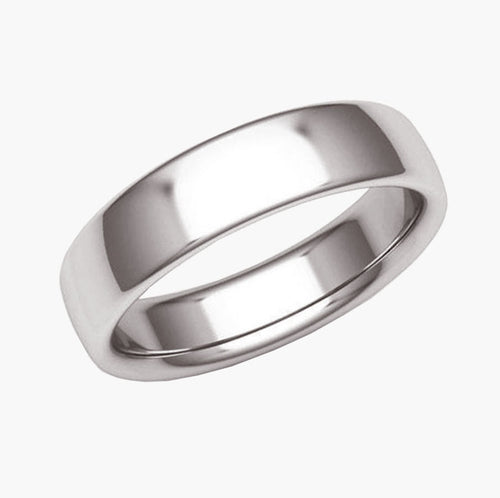 Low Dome Classic Wedding Band