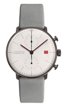 Load image into Gallery viewer, Junghans Max Bill Chronoscope 100 Jahre Bauhaus