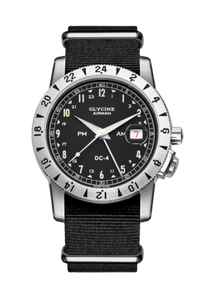 Glycine Airman DC4 watches made in Germany San Francisco  Partita customer design jewelry