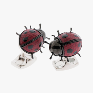 Lady Bug Cufflinks