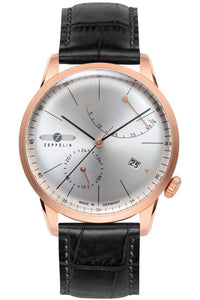 Zeppelin 7368-4 Watch Made in Germany San Francisco  Flatline Automatic series Partita customer design jewelry
