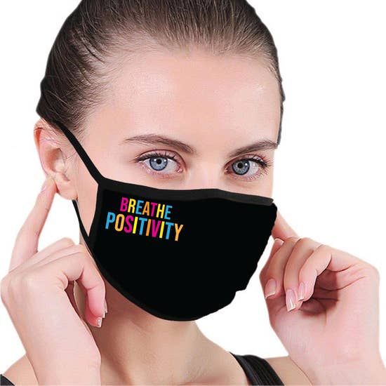 Breathe Positivity Mask-Accessories-House Of TENS-Max & Riley