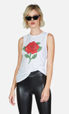 Ashlin Lighting Stem Rose Tank-Tops-Lauren Moshi-Max & Riley