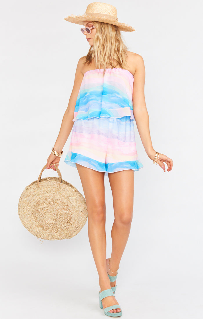 Thelma Romper Mumaid Waves-Dresses-Show Me Your Mumu-Max & Riley
