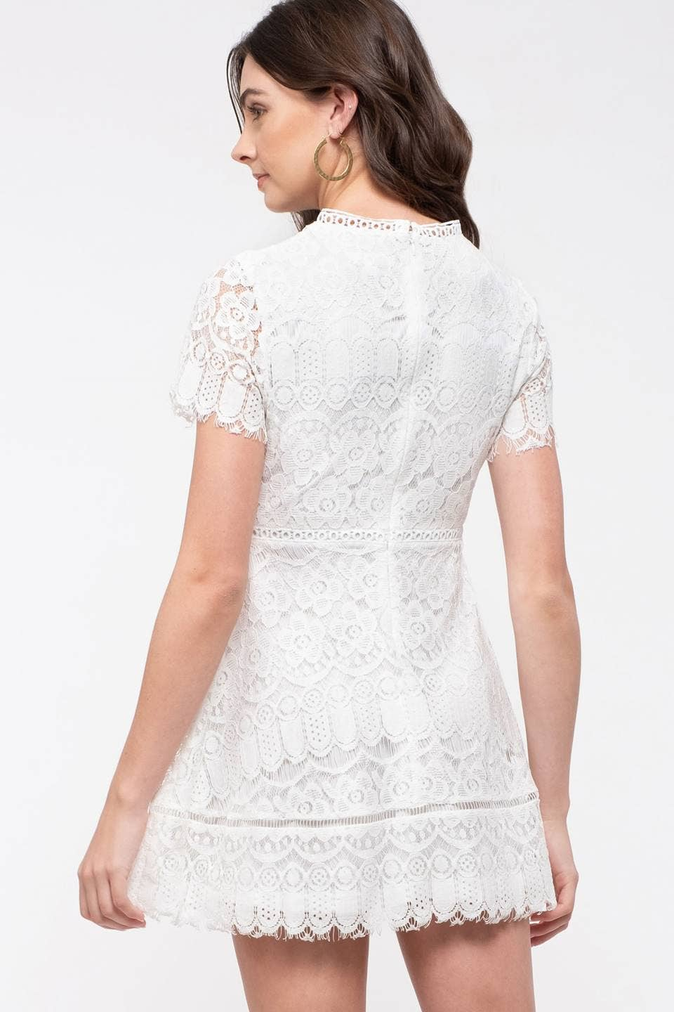 Alexandra Lace Dress-Dresses-Max & Riley-Max & Riley