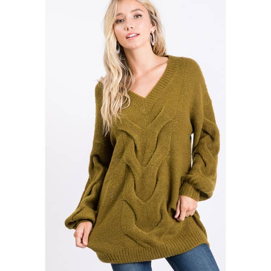 Pumpkin Picking Tunic Sweater-Sweaters-Max & Riley-Max & Riley