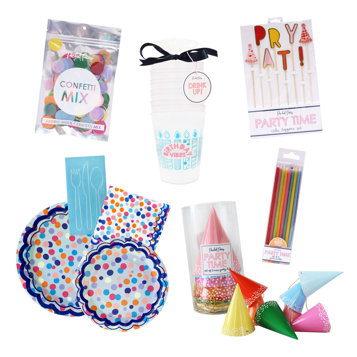 Birthday Party Essentials-Home & Gifts-Packed Party-Max & Riley