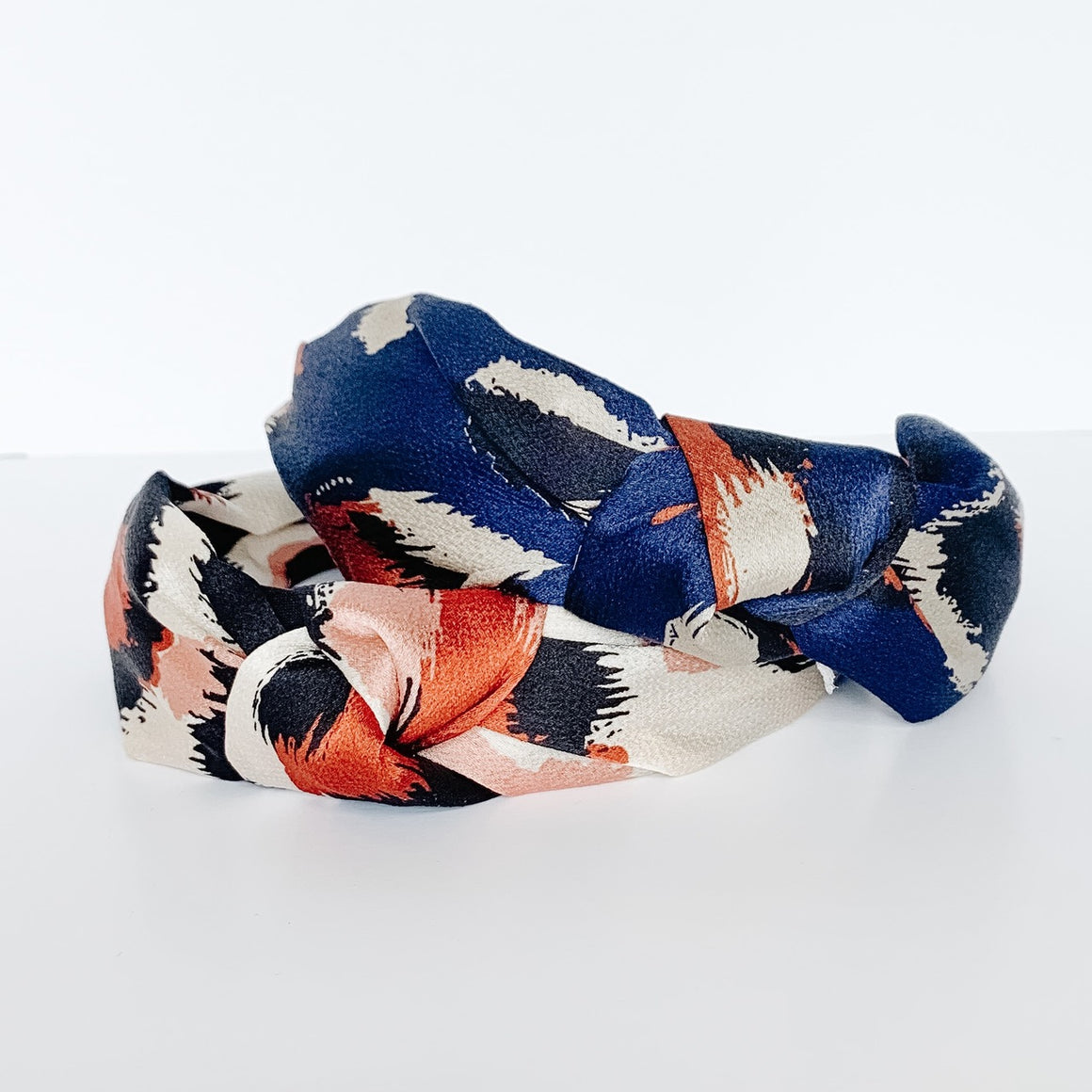 Abstract Print Knotted Headband
