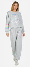 Ambrosia Diamond Peace Sweatshirt-Tops-Lauren Moshi-Max & Riley