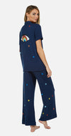 Starry Rainbow PJ Set-Pajamas-Lauren Moshi-Max & Riley