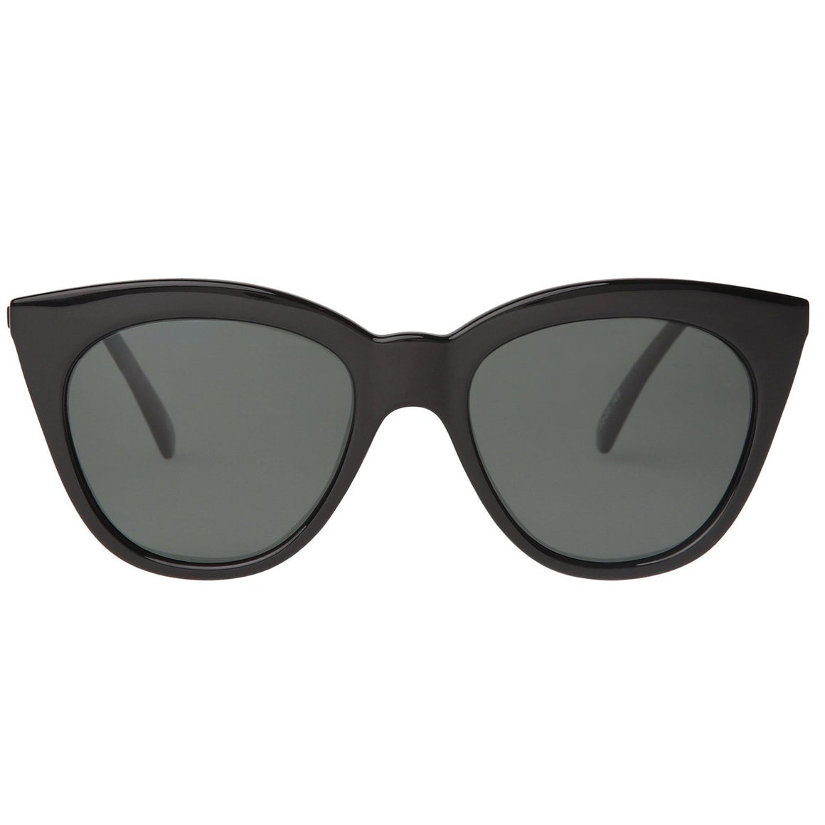 Halfmoon Magic Black-Smoke Mono-Sunglasses-Le Specs-Max & Riley