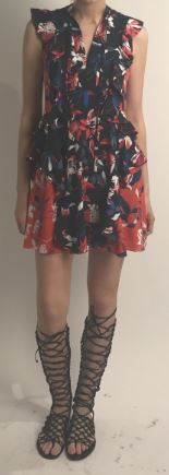 Tulip Print Lucie Dress-Dresses-Tanya Taylor-Max & Riley