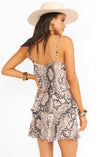 Suarez Ruffle Dress- Snake n Shake Exclusive-Dresses-Show Me Your Mumu-Max & Riley