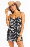 Rascal Romper- Zebra King Exclusive-Rompers-Show Me Your Mumu-Max & Riley