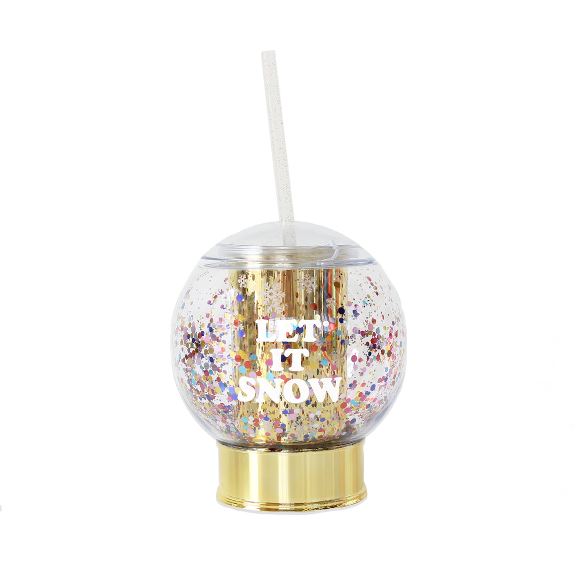 Snowglobe Sipper-Drinkware-Packed Party-Max & Riley