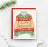 Holiday Greeting Cards-Home & Gifts-Nicole Marie Paperie-Happy Howl-i-days-Max & Riley