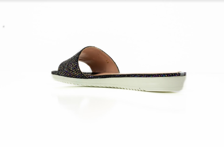 Tropez Glitter Slide Sandal- 100% Exclusive-Shoes-SJP Collection-Max & Riley