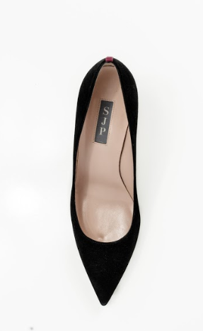 Fawn Black Suede-Shoes-SJP Collection-Max & Riley