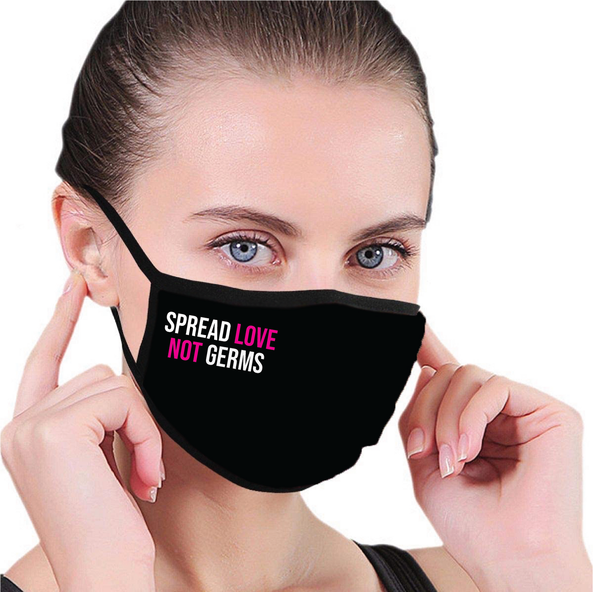 Face Mask- Spread Love Not Germs-Accessories-House of Tens-Max & Riley