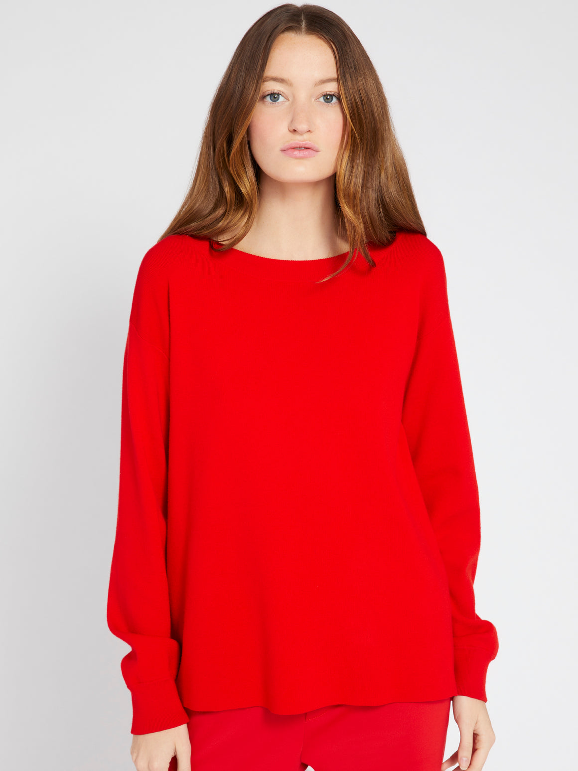 Ruela Split Back Sweater-Sweaters-Alice + Olivia-Max & Riley