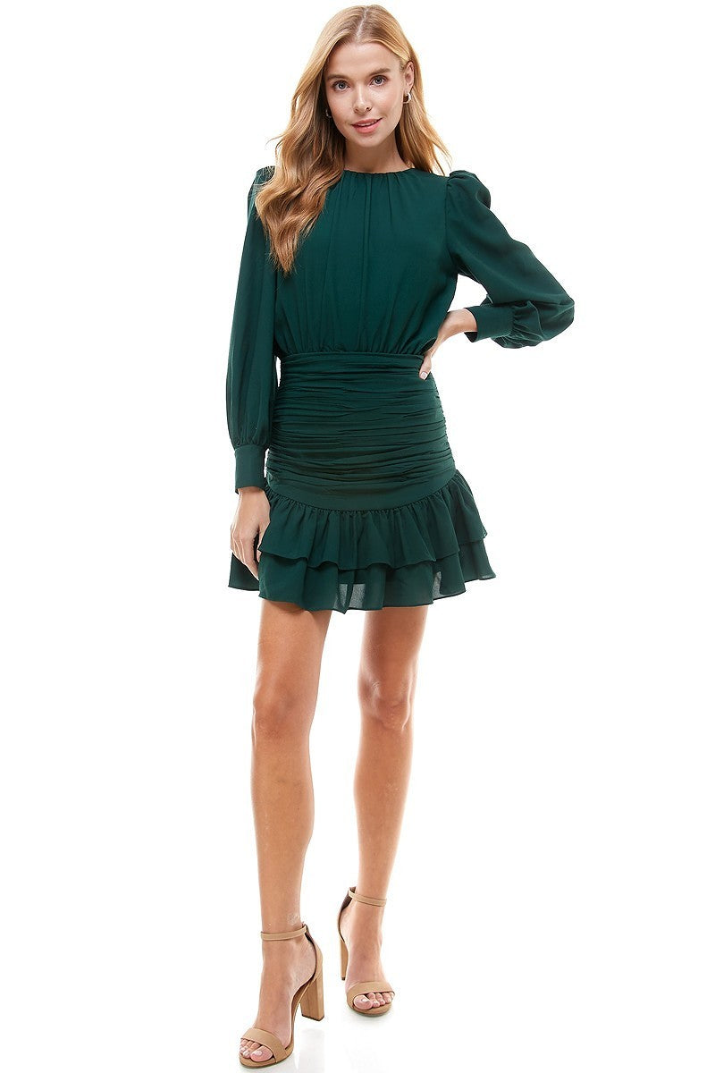 Evergreen Dress-Dresses-Max & Riley-Max & Riley