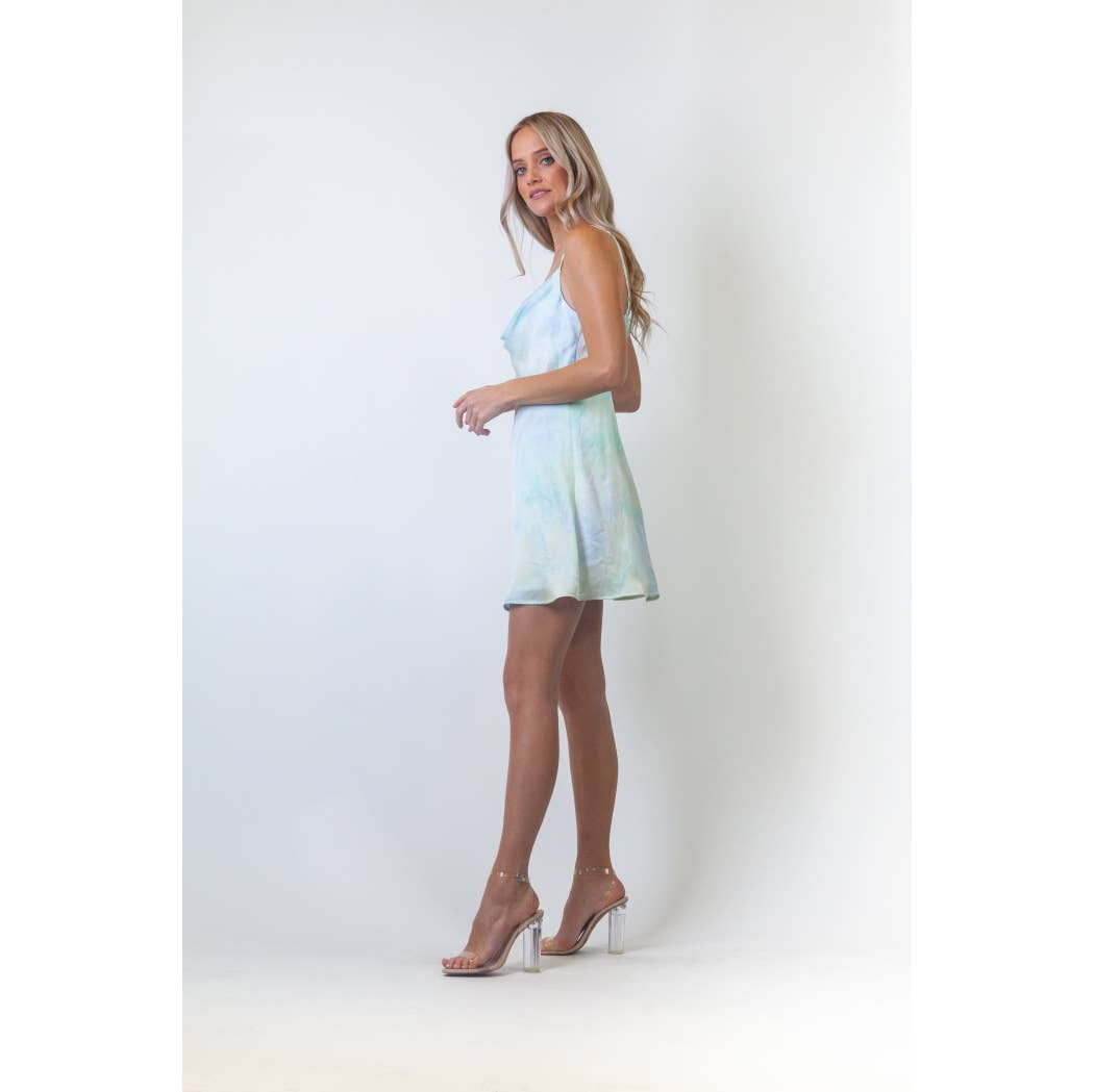 Elsa Tie Dye Dress-Dresses-Max & Riley-Max & Riley