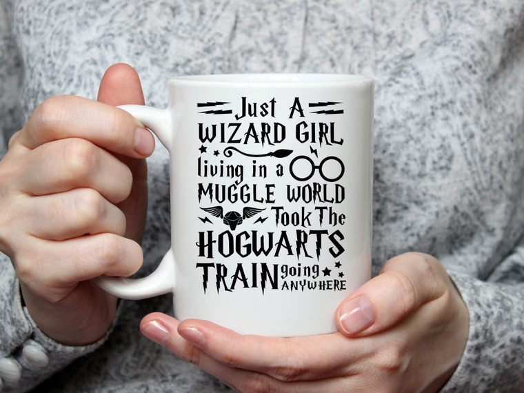 Just a Wizard Girl Mug-Home & Gifts-The Gift Shoppe-Max & Riley