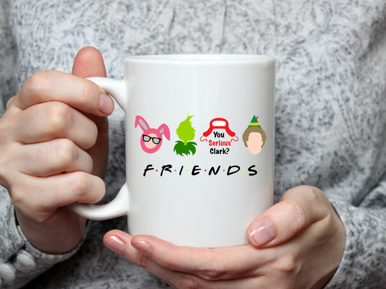 Holiday Friends Mug-Home & Gifts-The Gift Shoppe-Max & Riley