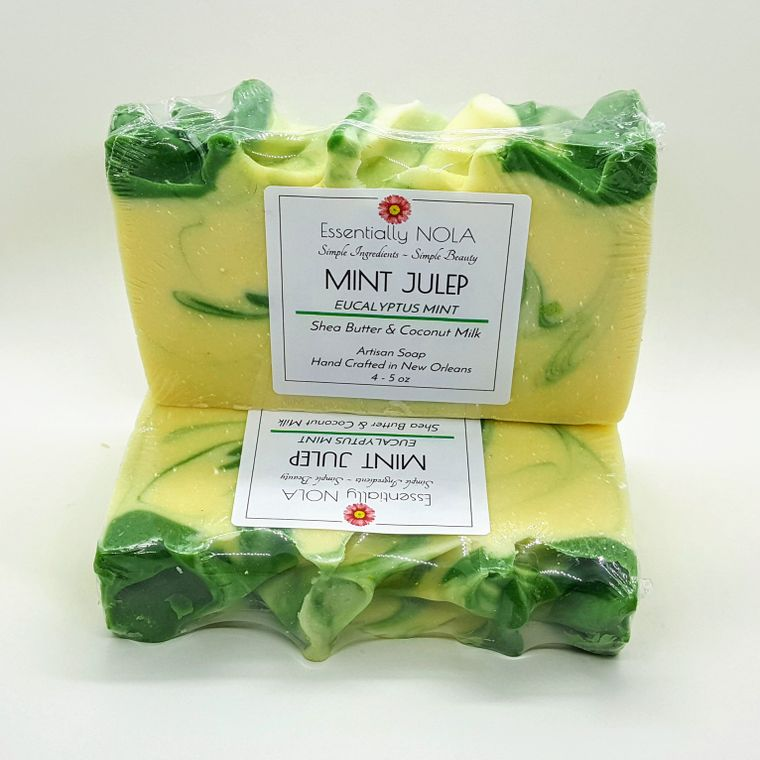 Mint Julep - Coconut Milk Soap - Eucalyptus Spearmint-Home & Gifts-Essentially NOLA-Max & Riley
