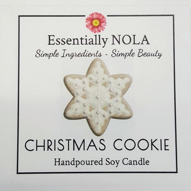 Holiday Candle - Christmas Cookie-Home & Gifts-Essentially NOLA-Max & Riley
