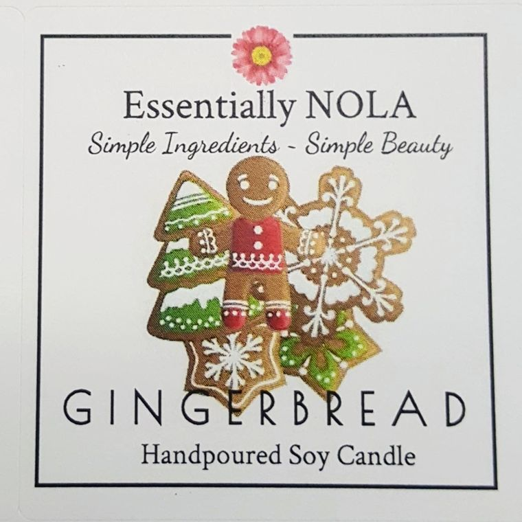 Holiday Candle - Gingerbread-Home & Gifts-Essentially NOLA-Max & Riley